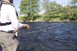 Fishing at Strathspey Estate